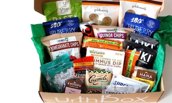 Urthbox 44 off groupon three month mini small medium or large tasty snack discovery box from urthbox up to 44 off negle Choice Image