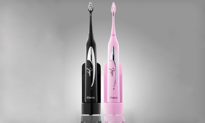 Jäger iOsonic Toothbrushes: Jäger iOsonic Toothbrushes with UV Sanitizers (Up to 78% Off). Five Options Available. Free Shipping.