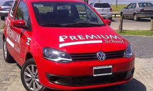 Premium School: $539 en vez de $2200 por 4 clases practicas de manejo + material teórico en Premium School