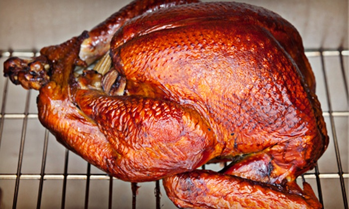Mama Redneck's - Fort Myers: Family or Deluxe Thanksgiving Catering Packages with Turkey and Stuffing from Mama Redneck's (Up to 53% Off)