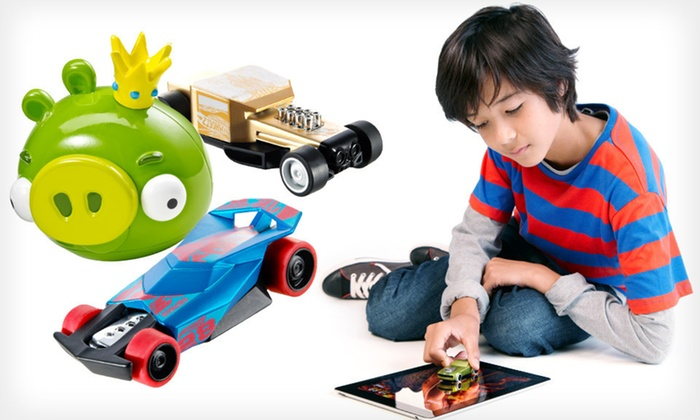 Mattel Apptivity Toys with iPad App: $10 for a Mattel Hot Wheels or Angry Birds Apptivity Toy with Downloadable iPad App ($17.48 List Price). Free Returns.