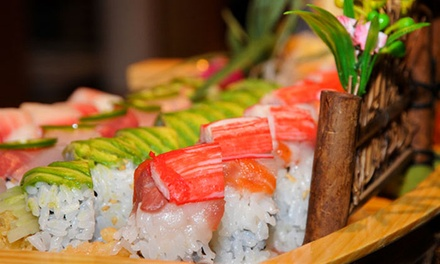 Sushi and Hibachi Dinner for Two at Kumo Japanese Steak House (Up to 47% Off). Two Options Available.