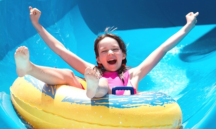 Admission and Sodas for Two or Four to Jacksonville Beach Shipwreck Island Waterpark (56% Off)
