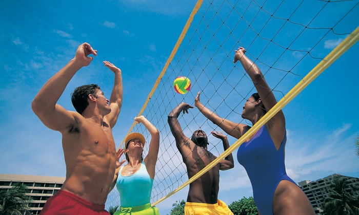 Bahama Beach Club - Coppell: Four- or Six-Person Sand Volleyball League Play or $10 for $20 Worth of Snacks at Bahama Beach Club