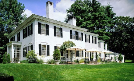 Groupon Deal: One- or Two-Night Stay and Dining Credit at Home Hill Inn in Plainfield, NH