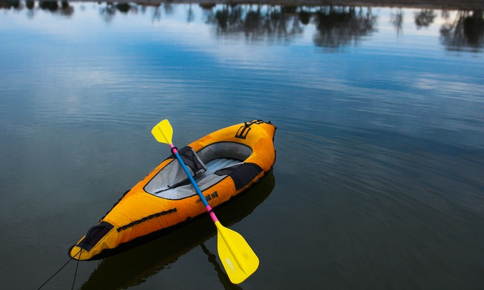 Just Roughin' It Adventure Company - Scottsdale: All-Day Inflatable Kayak or Standup-Paddleboard Rental at Just Roughin' It Adventure Company (Up to 44% Off)
