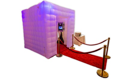Two-Hour Photo-Booth Rental or Two- or Four-Hour Rental with Customization from Say Cheese Photo Booth (50% Off)