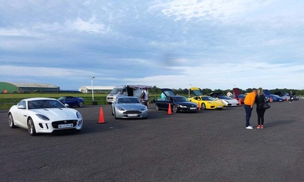 Choice of Up to Four Super Cars to Drive at Experience Limits