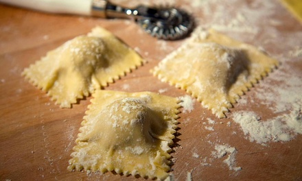 One Italian Cooking Class with Wine for Two or Four at Parioli Italian Bistro (Up to 48% Off)