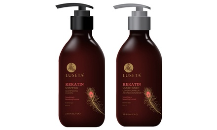 Luseta Keratin Smooth Series Shampoo or Conditioner (33 oz.)