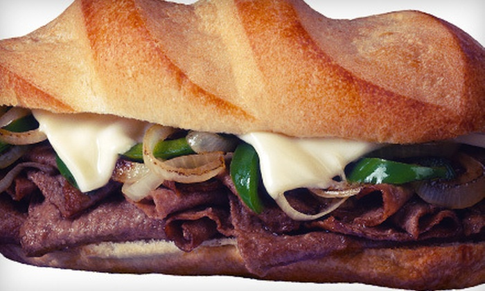 Bongiorno's Philly Steak Shop - North Beach: $10 for $20 Worth of Steak Sandwiches, Burgers, and Hoagies at Bongiorno's Philly Steak Shop
