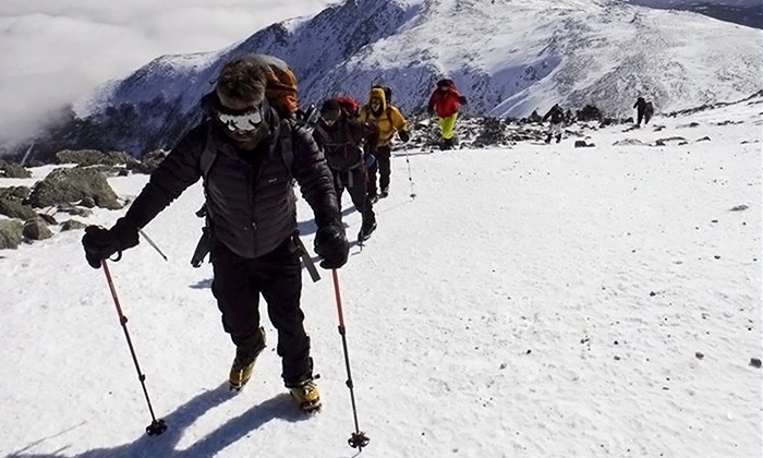 Northeast Mountaineering - The Bunkhouse at Northeast Mountaineering : Mountain-Climbing Adventure on Mount Washington for One or Two from Northeast Mountaineering (Up to 52% Off)
