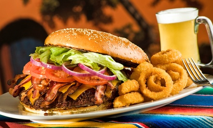 Burgers, Grinders, and Pizzas for Two or Four at Big D's Bar & Grill (Up to 50% Off)