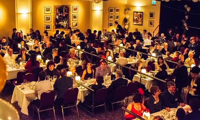 """Mysteriously Yours Dinner Theatre - Toronto: """"Speakeasy! A Roaring Twenties Murder Mystery"""" for Two, Four, or Six at Mysteriously Yours Dinner Theatre"""