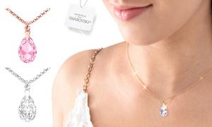 Ah! Jewellery Collier de poire Cristaux Swarovski®