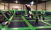 Rebounderz - Edison: 90 Minutes of Trampoline Jumping for Two or Four at Rebounderz (Up to 55% Off)
