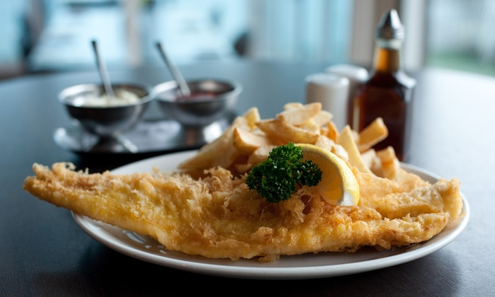 Fishermans Wharf - Southend On Sea: Fish and Chips for Two with Optional Bottomless Chips at Fishermans Wharf (Up to 38% Off)