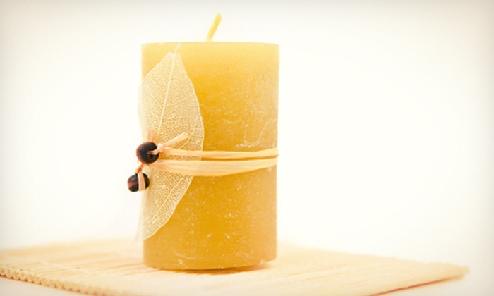 Stambry's Crescent Moon Soap Company Inc. - Quincy Center: Candle-Making Class for One, Two, or Four at Stambry's Crescent Moon Soap Company Inc. (Up to 55% Off)