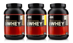 2lb. Optimum Nutrition Gold Standard Whey-Protein Tub
