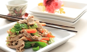 Aroy Jung Asian Fusion: Asian Fusion Cuisine for Two, Four, or Take-Out at Aroy Jung Asian Fusion (Up to 43% Off)