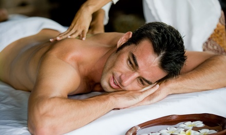 $85 for Men's Spa Day with Massage, Facial, and Manicure at It's All About Me Salon & Day Spa ($195 Value)