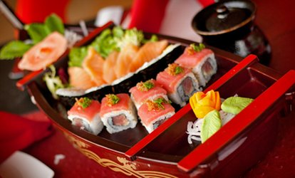 image for Dinner and Drinks for Two at Sushi Ya <strong>Japanese</strong> & Asian Fusion (Up to 47% Off)