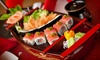 Assortiments de sushis à partager