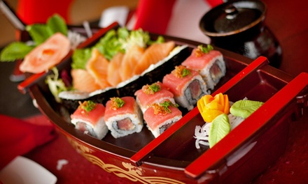 $55 for a Sushi Boat and Beer at Jebon Sushi and Noodle House ($116 Value). Groupon Reservation Required.