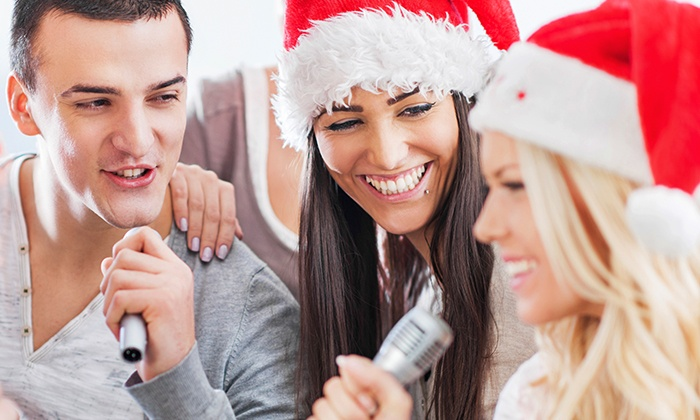 Christmas Carol-Okie at JAMBOX Entertainment - New York: $75 for 75-Minute Session with CD or MP3 and Web Broadcast at JAMBOX Entertainment ($150Value)