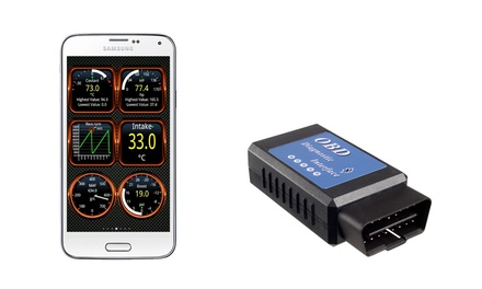 BYLT OBD II Bluetooth Auto Diagnostic Scanner with App