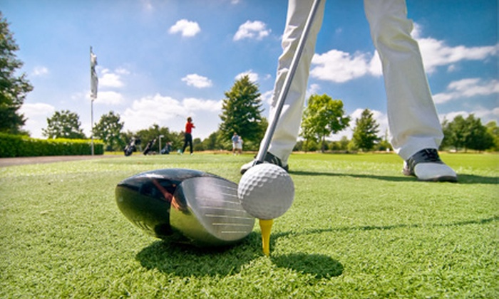 Sandy Hollow Golf Course - Southeast: 18-Hole Round of Golf with Cart for Two or Four at Sandy Hollow Golf Course (Up to 52% Off)