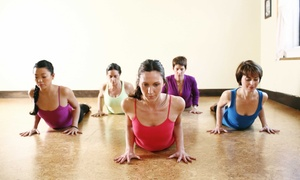 BambooMoves: 10 Yoga Classes, or One Month of Unlimited Yoga Classes at BambooMoves (Up to 74% Off)