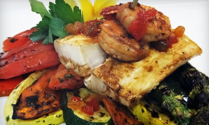White Oak Kitchen + Drinks - Galleria: $20 for $40 Worth of Eclectic Fare for Dinner at White Oak Kitchen + Drinks