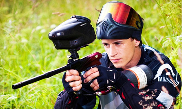 Jaegers Paintball Complex - Jaegers Paintball Complex: 100-Round Paintball Game with Equipment for One, Two, or Four at Jaegers Paintball Complex (Up to 58% Off)