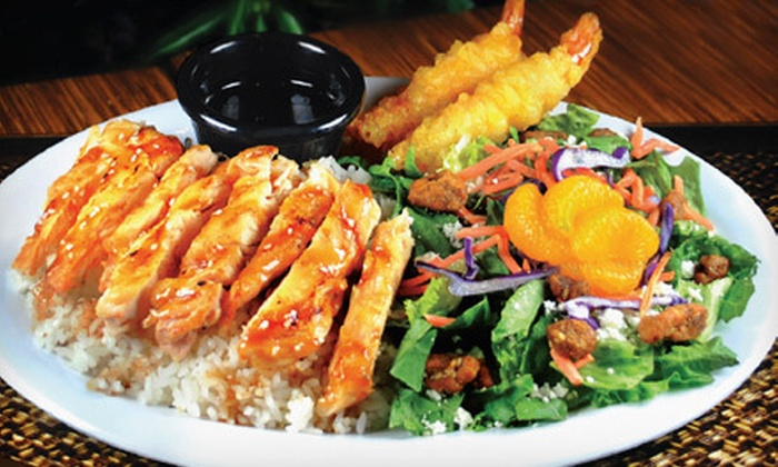 Rumbi Island Grill - Northeast Meridian: $8 for $16 Worth of Island-Inspired Burgers, Bowls, and Seafood at Rumbi Island Grill in Meridian