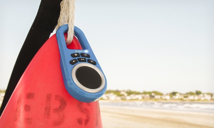 Ion Bluetooth Speaker Clipster: Ion Bluetooth Speaker Clipster in Black, Blue, or Red. Free Shipping.