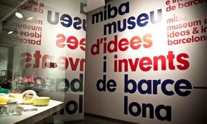 Miba: Entrada al Museu d'Idees i Invents de Barcelona para dos o cuatro personas desde 9 €