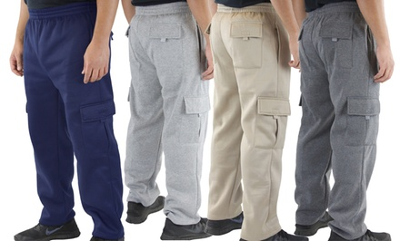 Men's Classic Cargo Sweatpants