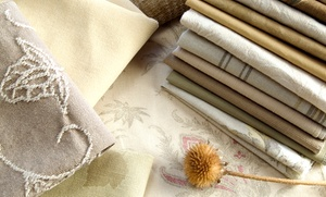 B. Wilk Fabrics: Fabric and Trim Purchases at B. Wilk Fabrics (Half Off). Two Options Available.