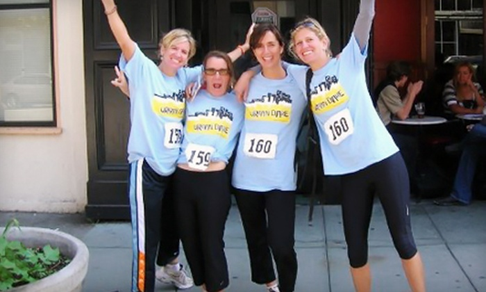 Urban Dare - Front Page Sports Bar and Grill: $45 for Urban Dare Adventure Race for a Two-Person Team on Saturday, August 17, at Noon (Up to $90 Value)