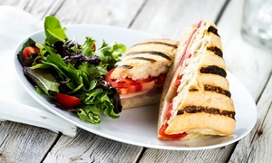 Devine Cafe: Panini, Cake and Coffee For Two or Four from £9.50 at Devine Cafe