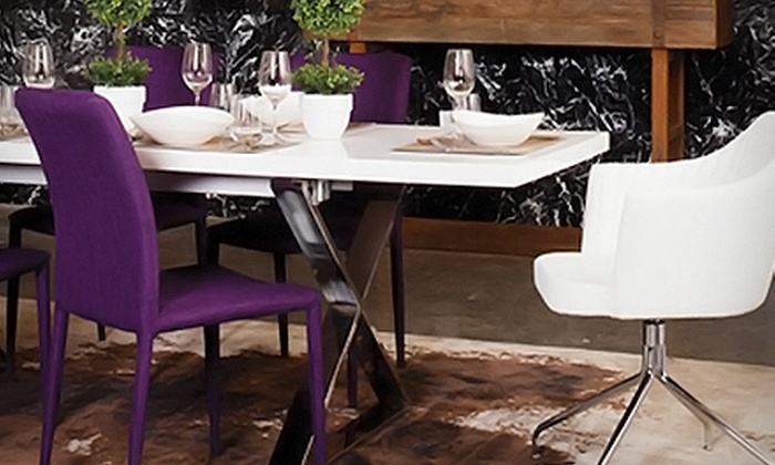 Moe's Home Collection - Tukwila: Home Decor and Furniture at Moe's Home Collection (Up to 54% Off). Two Options Available.