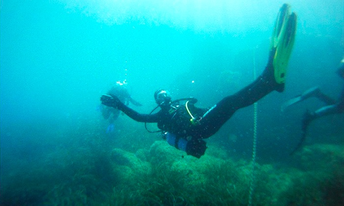Cours de plongée groupon