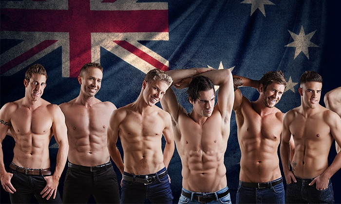 Aussie Hunks - V Theater: Limited Time Only: Aussie Hunks at V Theater on July 31–December 31 (Up to 45% Off)