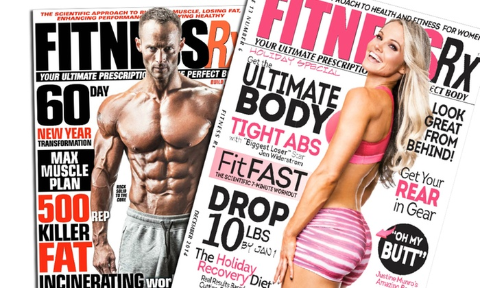 Blue Dolphin Magazines: One-Year Subscription to One of Five Fitness Magazines (Up to 52% Off)