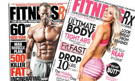 One-Year Subscription to One of Five Fitness Magazines (Up to 52% Off)