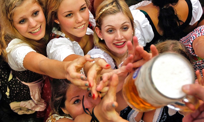 Sam Adams Octoberfest - Sam Adams Castle & Beer Hall: The Bavarian, Der Kommissar, or The Chancellor Ticket Package at Sam Adams Octoberfest, Sept. 19-20 (Up to 52% Off)