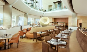 Hilton Capital Grand Abu Dhabi: Burger with Malt Beverages for Up to Four at Noche, Hilton Capital Grand Abu Dhabi (Up to 52% Off)