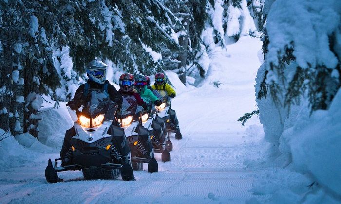 The Adventure Group - Upper Lynn: Cruiser or BC Snowmobile Tour for Two from The Adventure Group (Up to 19% Off)