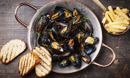 1 o 2 kg di pesce fritto o paella